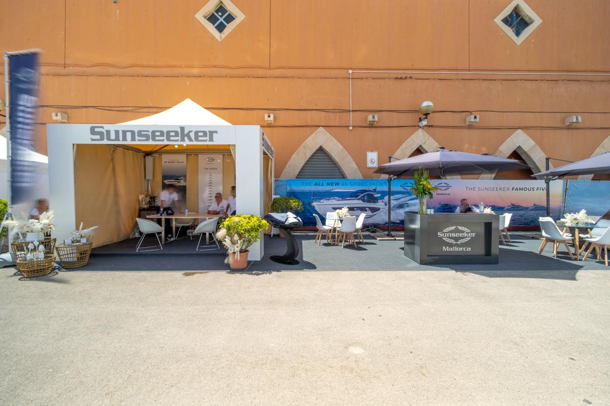 Stand Sunseeker Palma International Boat Show 2021