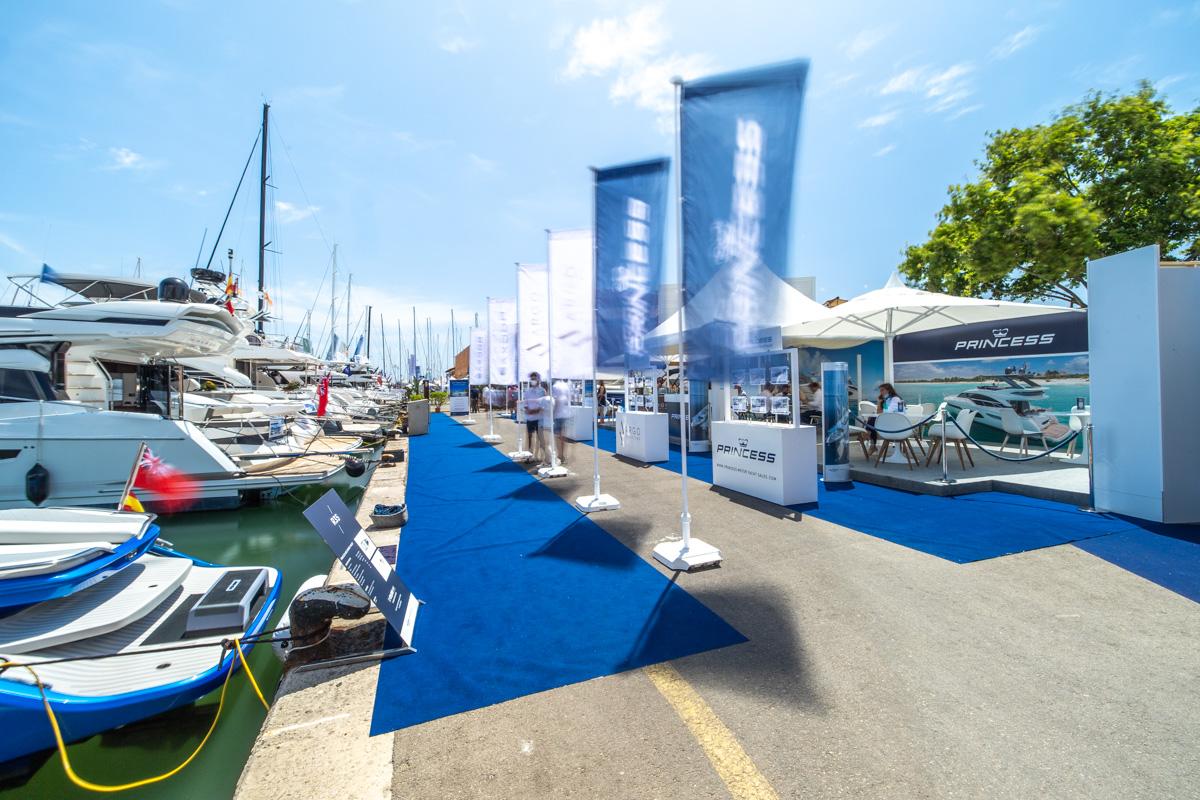 Stand Princess Palma International Boat Show