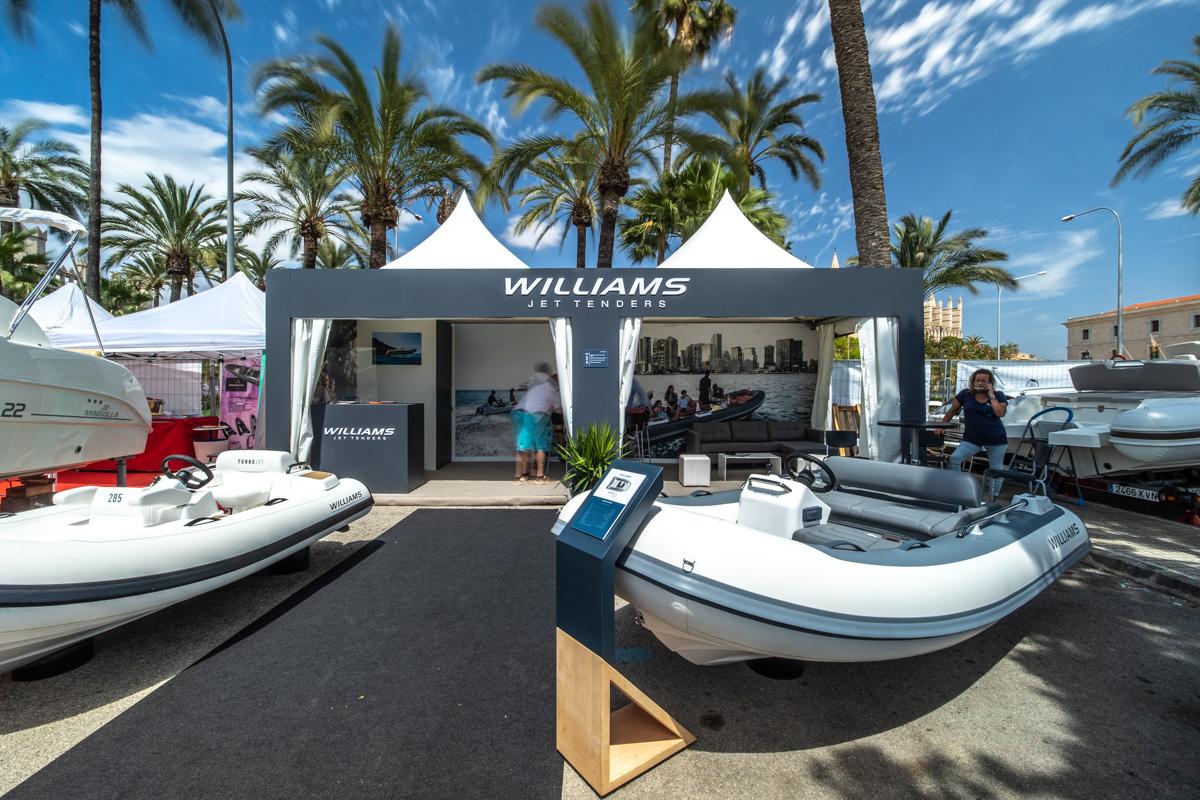 Stand Williams Jet tenders Palma International Boat Show