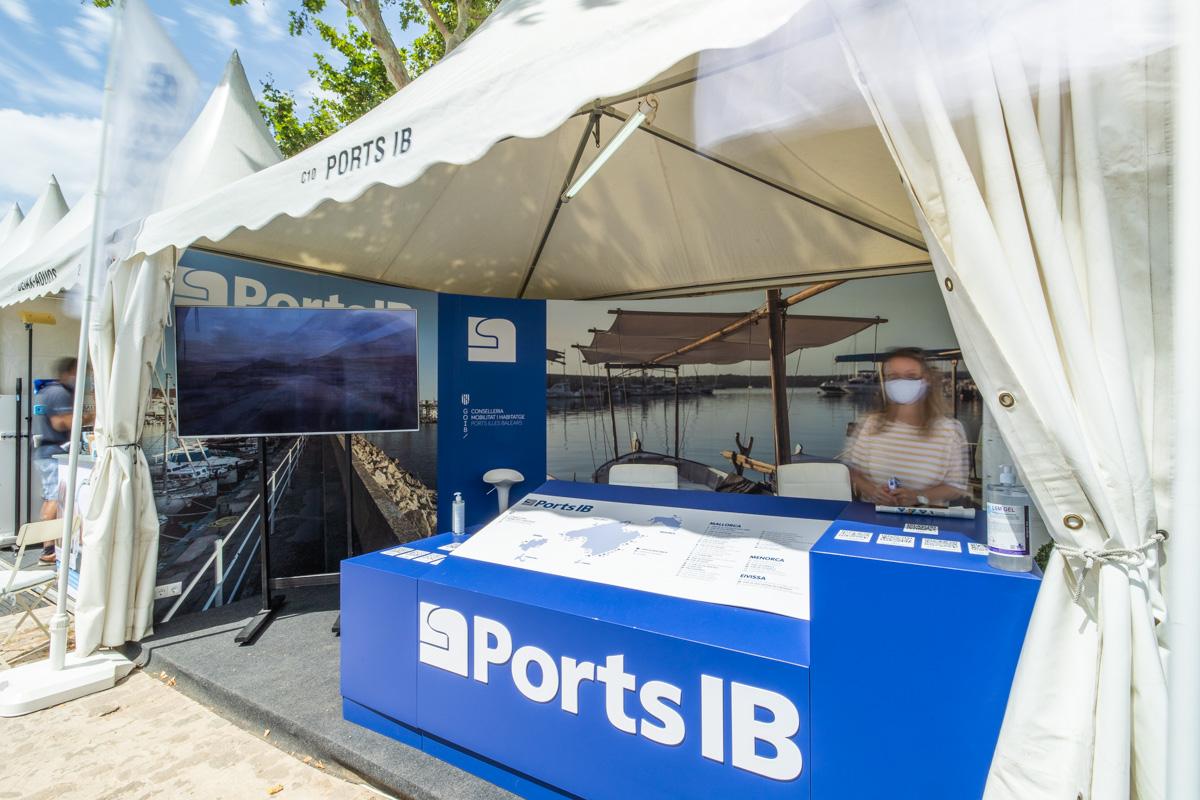 Stand Ports de les illes balears Palma International Boat Show