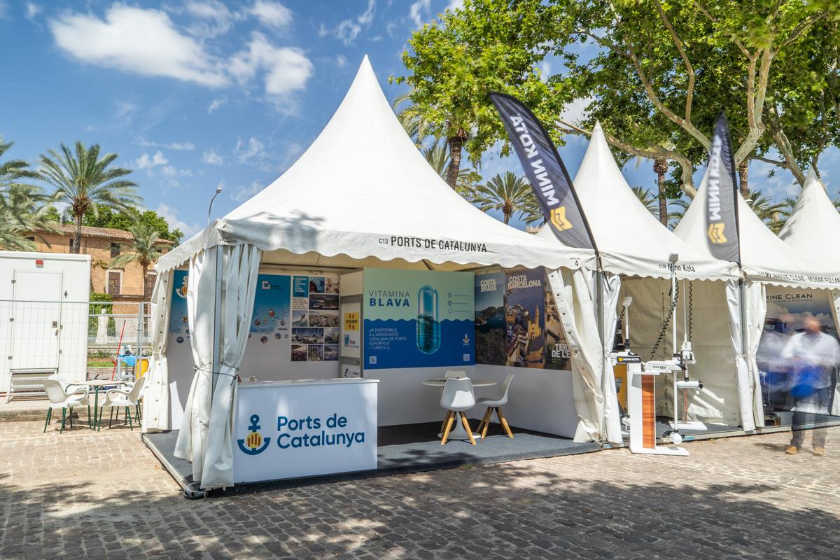 Stand Ports de Catalunya Palma International Boat Show