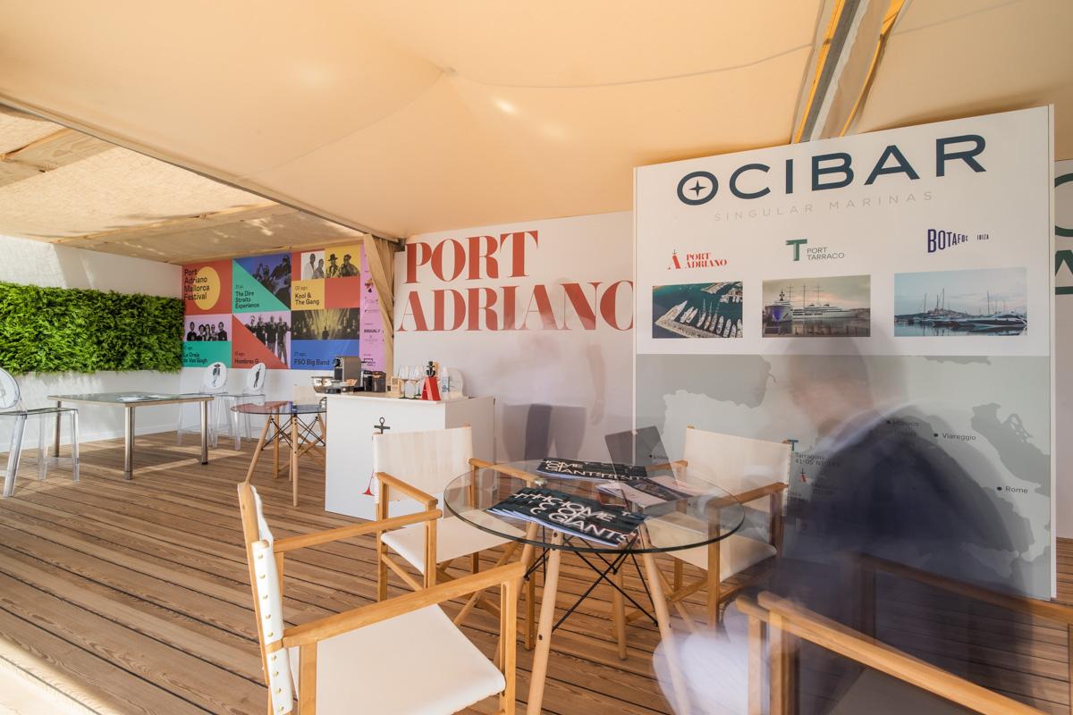 Stand Ocibar palma superyacht show