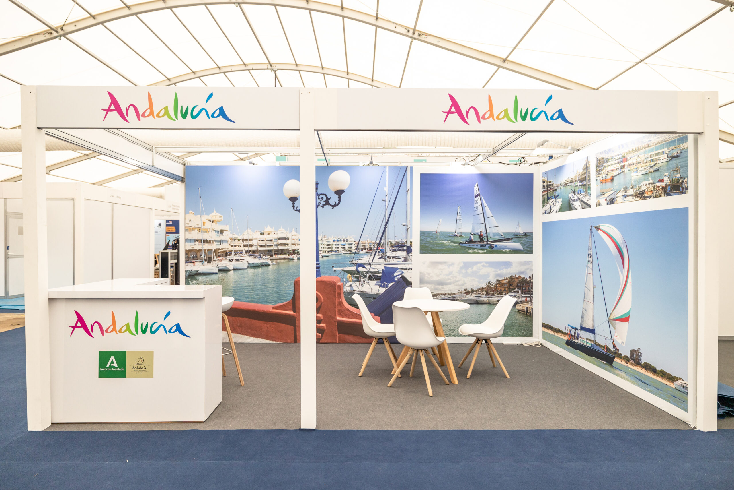 Stand Andalucia Southampton boat Show 2021